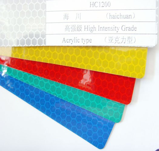 high intensity reflective sheeting Acrylic type