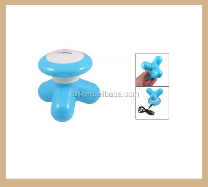 Fashion Design Mini Electric Plastic Massager