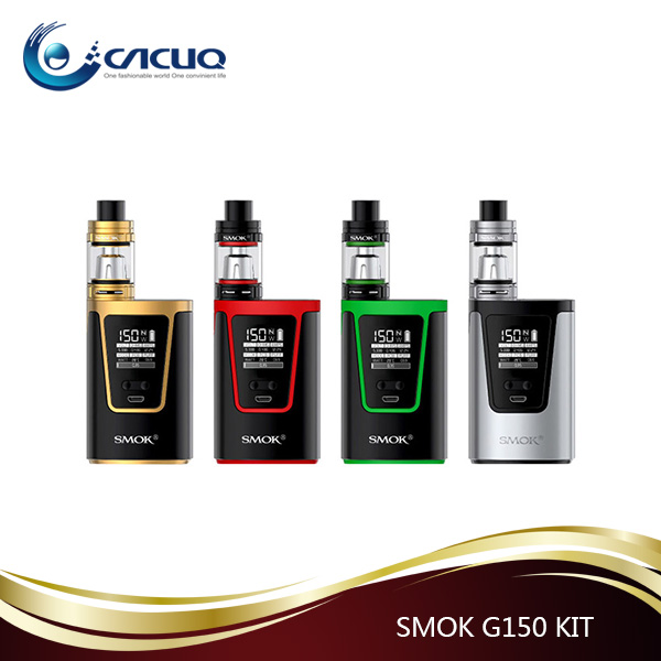 colored rainbow smoke cigarette Smok G150 Kit