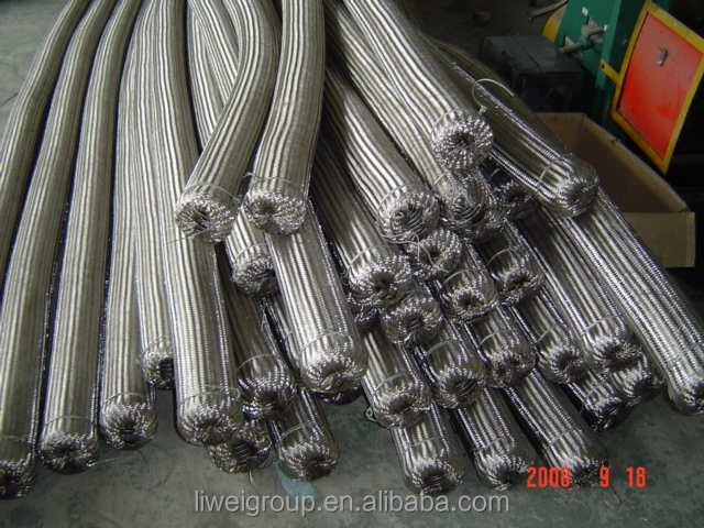 40 Bar Pressure Stainless Steel Flexible Heat Resistant Hose