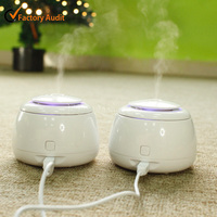 Classic ultrasonic personal humidifier / Electric air humidifier / Ceramic humidifier
