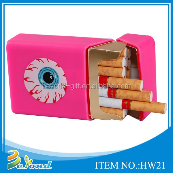 Fashion cute waterproof silicone cigarette case
