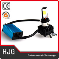 New design excellent performance motor led lamp 4 side chip motorcycle headlight