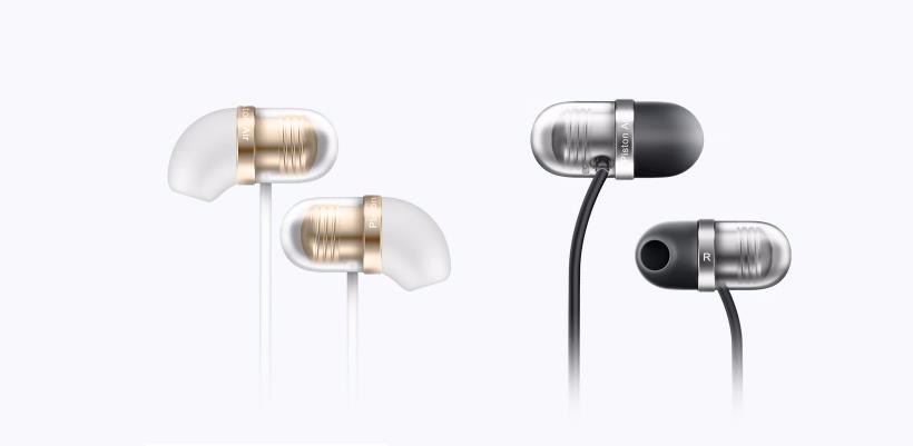 Original Xiaomi Mi Capsule In-ear Earphones White Black Microphone Portable Media Player On-cord Control For Android