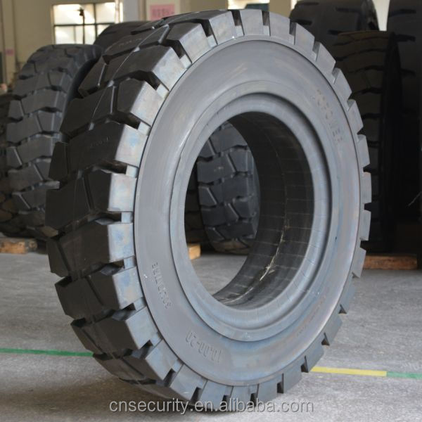best price solid forklift tire for linde tire 27x10-12 China manufacturer