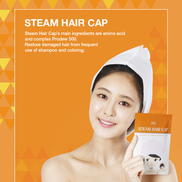 IYOU steam hair cap