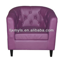 leather comfortable tub chair