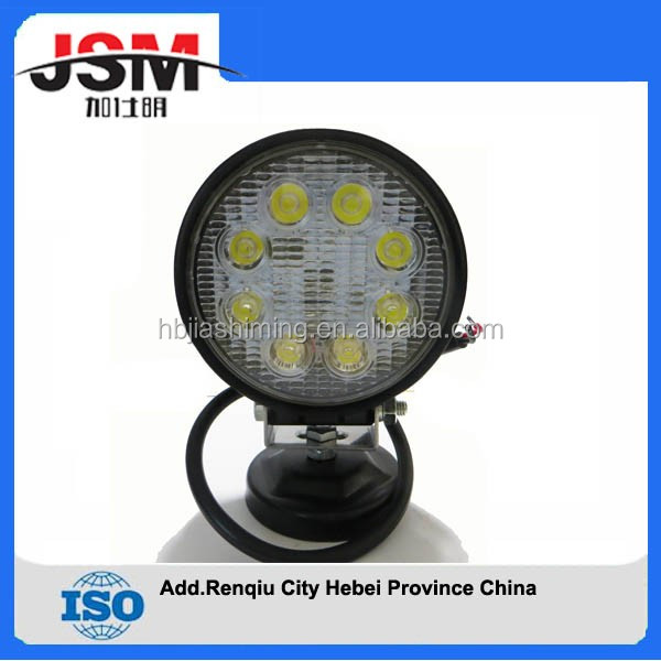 Auto truck led work lights offroad lights for jeep