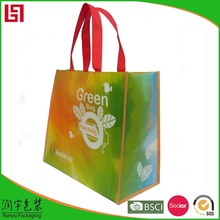 Promotional Logo Printed High Visibility Safety small canvas shopping bag
