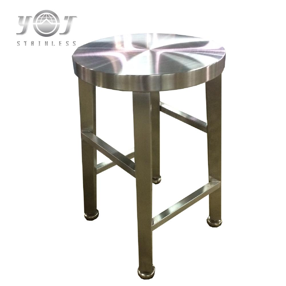 custom shape steady durable light weight fireproof stainless steel chair