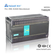 Haiwell T48S2R 48points PLC programmable logic controller with PLC simulator