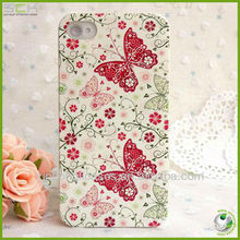 custom printing case for iphone ,flower case for iphone 5