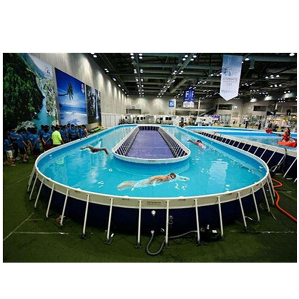 Panel swimming pool ,swim spa inflatable and inflatable ocean pool