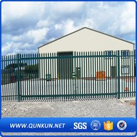 China manufacturer decorative black aluminum fence