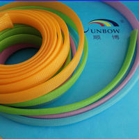 PET weaving expandable mesh sleeve for cable protection