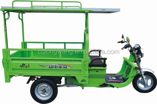 2016 tricycle motorcycle for cargo/1000W electric three wheeler/New solar panel bajaj three wheeler price