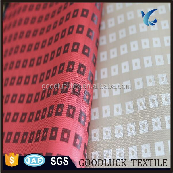 Cation Two Tone Jacquard Dobby Fabric for Suit Lining