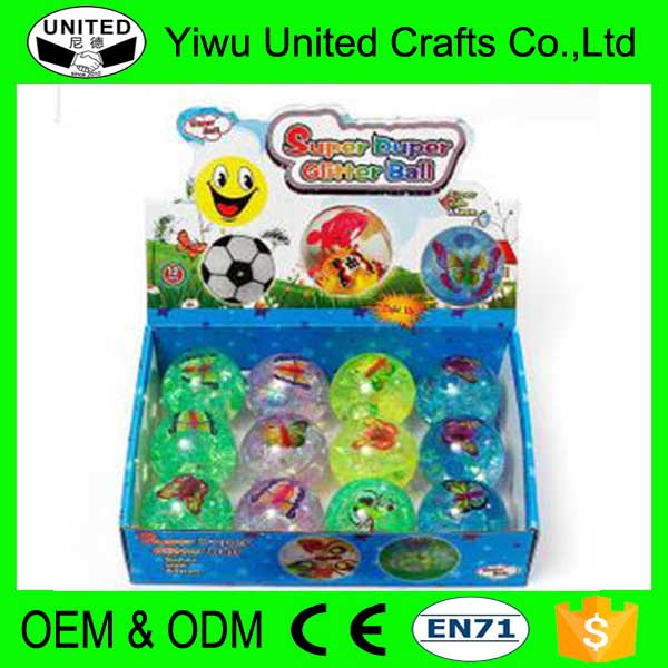 Wholesale Flashing Bouncy Balls Vending Machine 45mm Bouncy Ball