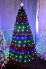2016 low price fiber optical christmas tree for xmas decorations