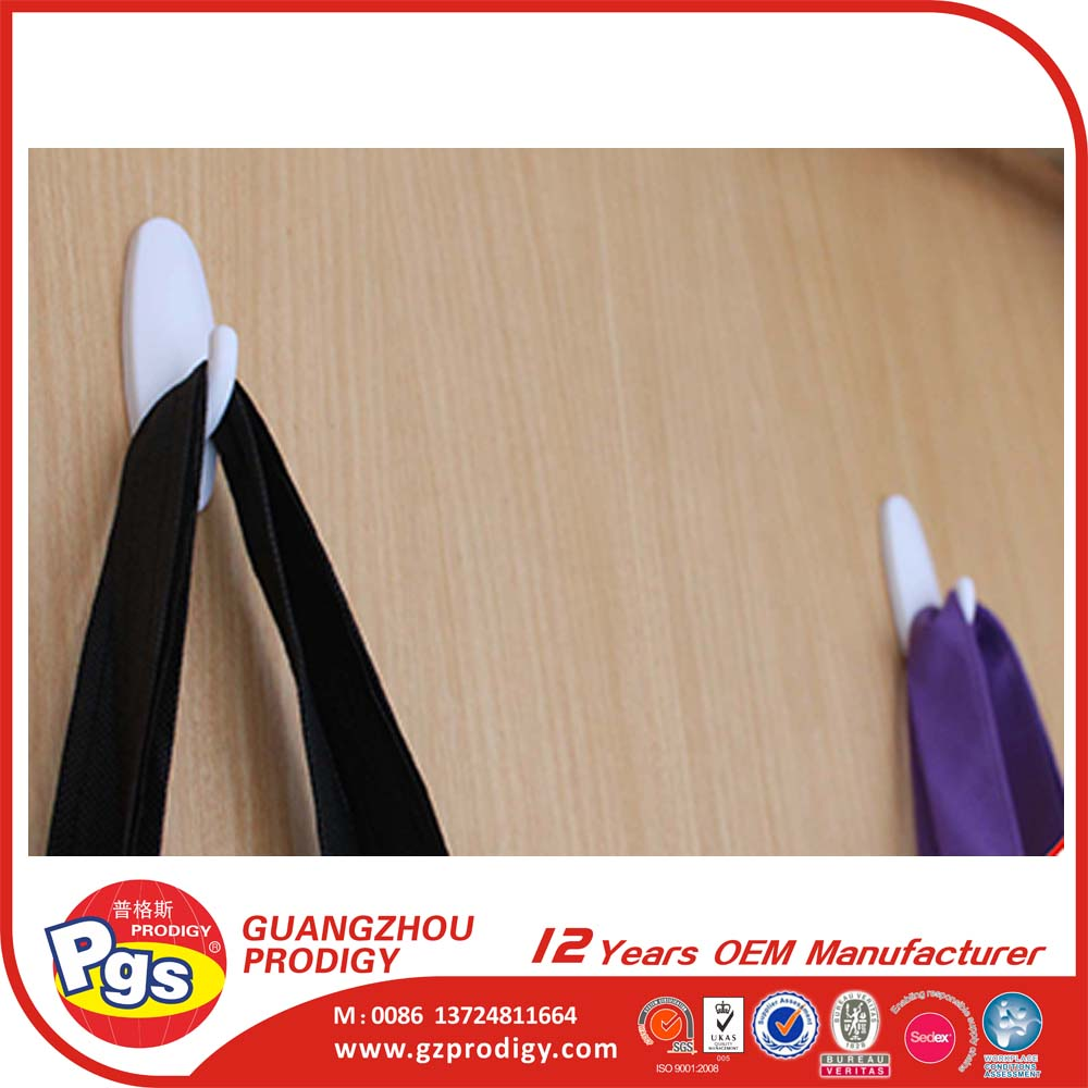 heavy duty removable wall plastic self adhesive hook