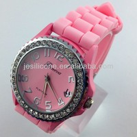 2014 hot sell JE The newest silicone watch from China