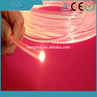 8mm Submarine Plastic Fiber Optic Cable Lighting