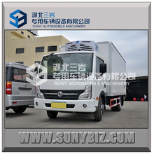 DONGFENG refrigerated tank truck/refrigerated standby electric unit truck light van box truck