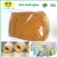 EVA High Stickiness Long Open Time Hot Melt Pressure Sensitive Adhesive For Label Paper