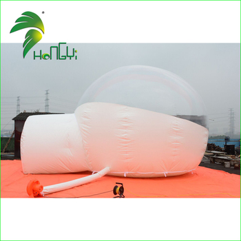 Waterproof Camping Bubble Tent, Airtight Transparent Inflatable Clear Bubble Tent for Outdoor
