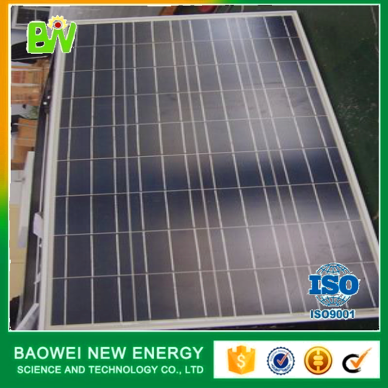 Economical high efficiency 150w 12v solar panel