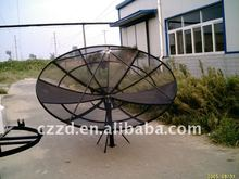 c band satellite mesh dish tv antenna