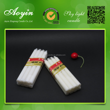 brand name stick white candle sales to Angola