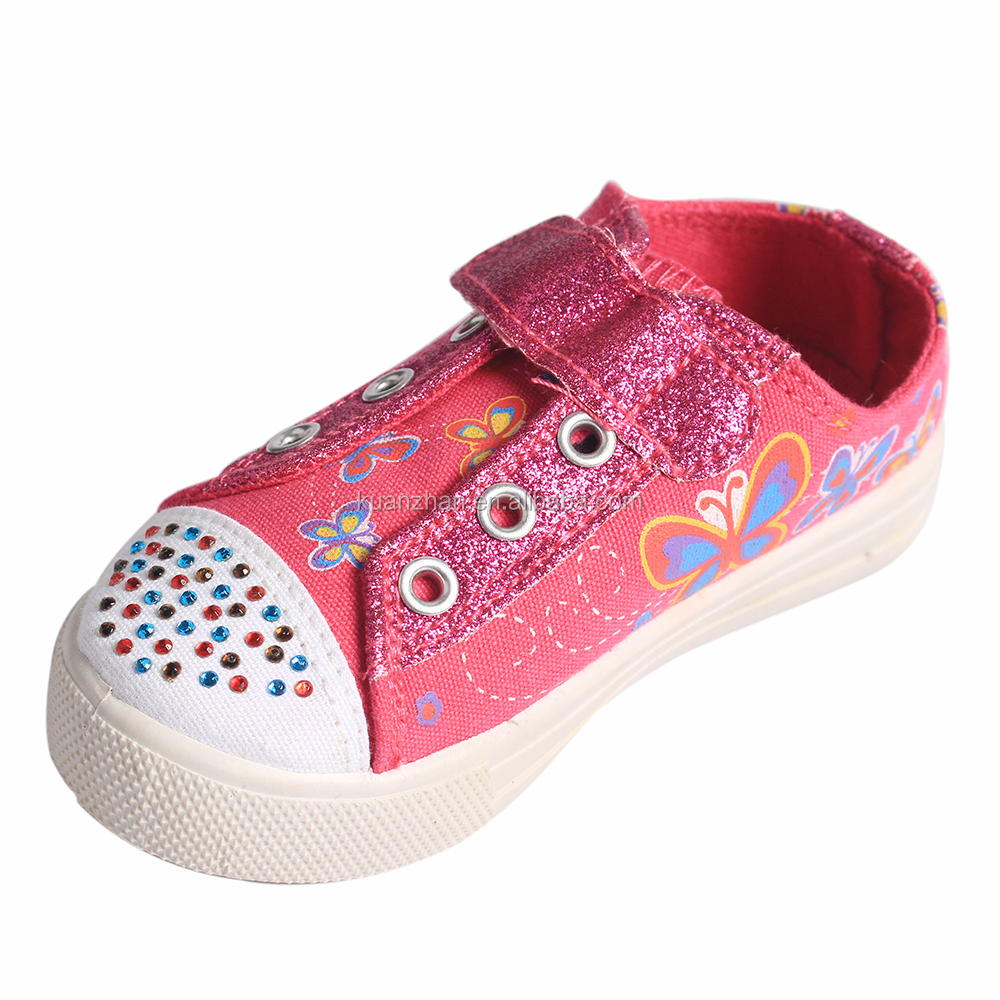 Wholesale China Import Kids sports canvas shoes