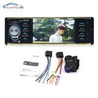 4 Inch Car Radio Auto with SD USB Receiver MP5 Audio System FM 2 Car Stereo Player Traveling with Screen Reversing Radio