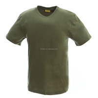 Best price new cotton plain army green t-shirt marine blue t shirt