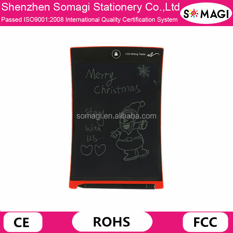 "High Quality 8.5"" Electronic LCD Writing Tablet With Stylus Memo Pad Board For Office Children Students"