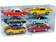 6 Slot 1/18 Scale Display Case Acrylic Model Car Display Case