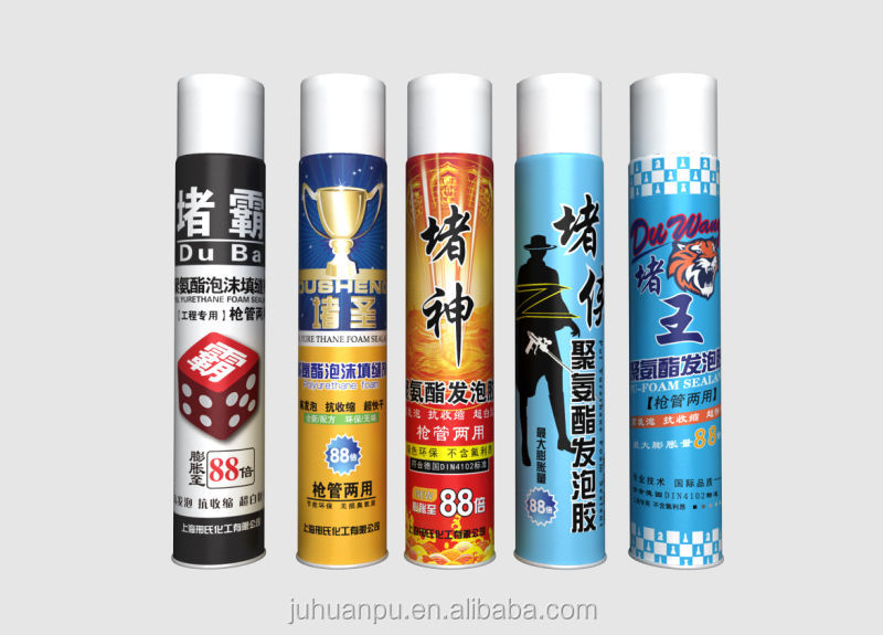JUHUAN widely use pu foam high quality spray sealant