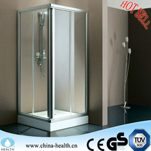 standard sliding glass door size for shower stall
