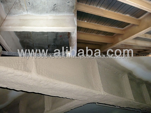 Fireproof Cementitious Coating [Based Vermiculite & Portland Cement]
