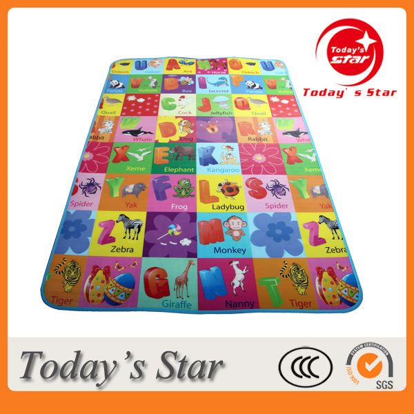 Multi-functional Non Toxic Baby Play Educational EPE Foam Mat Baby Used Crawing Mat