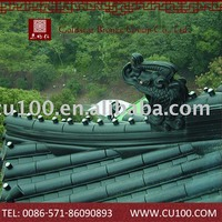 Elegant traditional temple competitive price high quality oem chinese clay roof tiles for sale