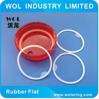 Soft Silicone O Ring Food Grade for Cup Sealing Gasket Clear
