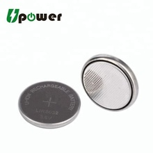 3.6v li-ion Rechargeable Battery lir2032 Lithium ion Coin Cell Battery