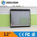 12 inch monitor lcd display open frame with touch
