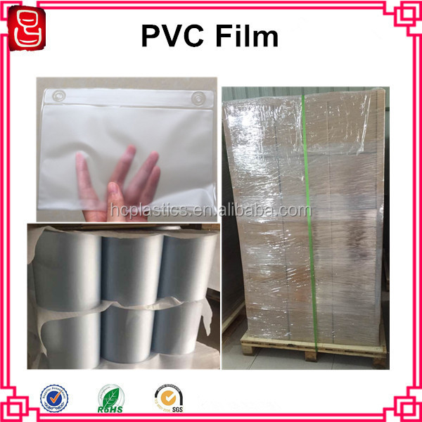 UV Resistant Super Clear PVC Film PVC Plastic Film