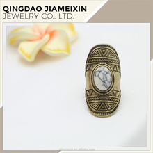 R0010 white zinc alloy carving decorative pattern wedding ring designs