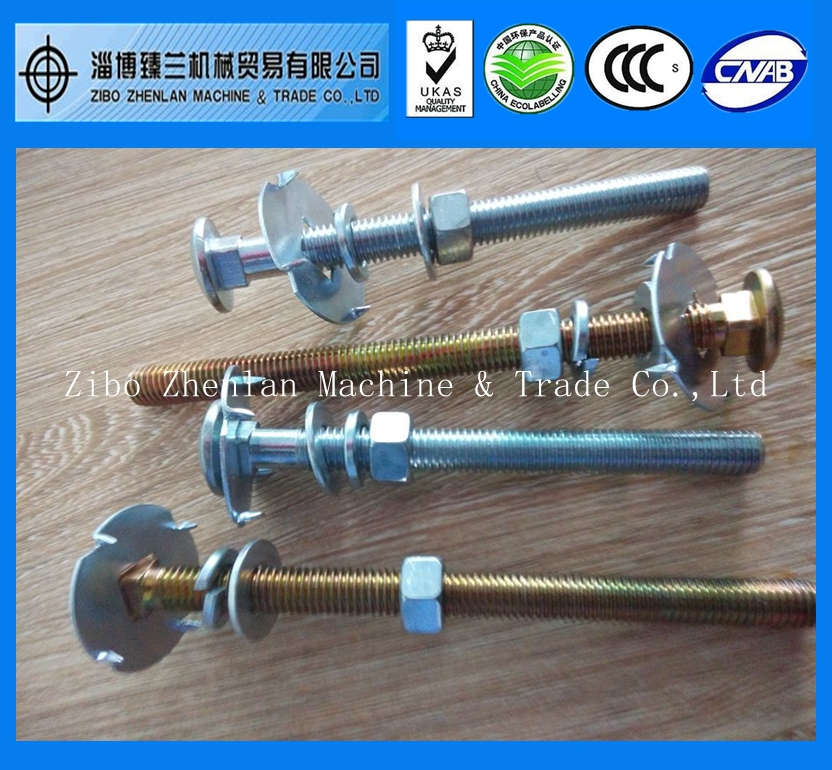 M4 Metric Bsw Long Carriage Bolt with Square Neck