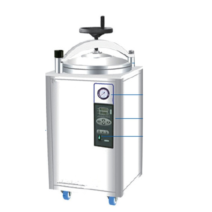 75L Steam Sterilization used for Medical health care ,Universities,Colleges,Biological research,Food and Chemical industry