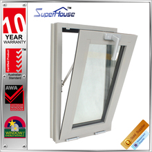 Australian standard as2047 tempered glass aluminium tilt and turn windows with fly screen